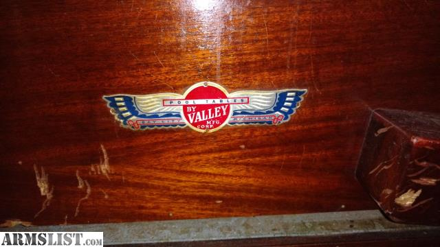 Vintage Valley Pool Table