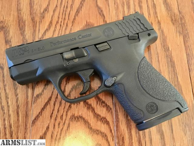 Armslist for sale smith and wesson performance center for M p ported shield 9mm