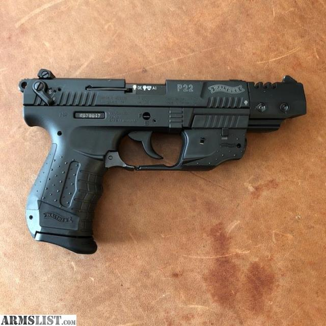 ARMSLIST - For Sale: Walther P22 5