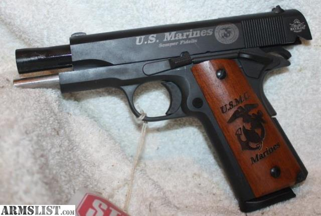 ARMSLIST - For Sale: Armscor Rock Island Armory Marine Corp Engraved