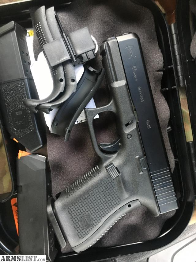 ARMSLIST - For Sale/Trade: 19 Glock gen 5 with appendix holster