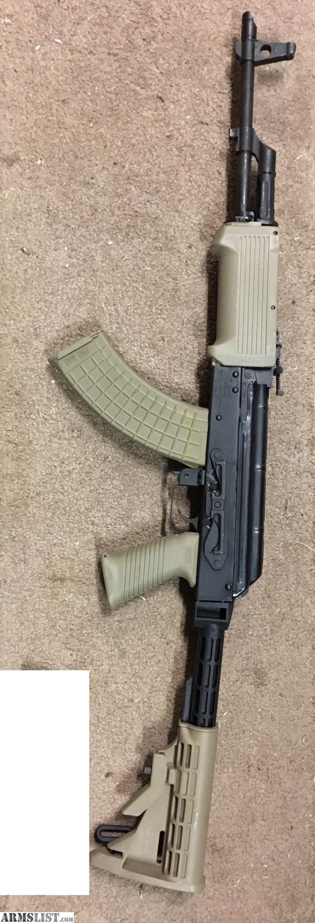For Sale: Romanian AK47 FDE Furniture