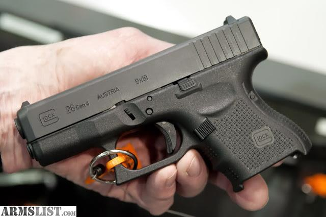 ARMSLIST - For Sale: GLOCK 26 package price is negotiable