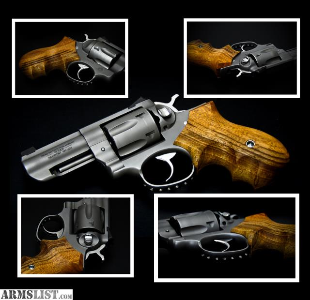 ARMSLIST - For Sale: CUSTOM Ruger GP100 357 Wiley Clapp Model