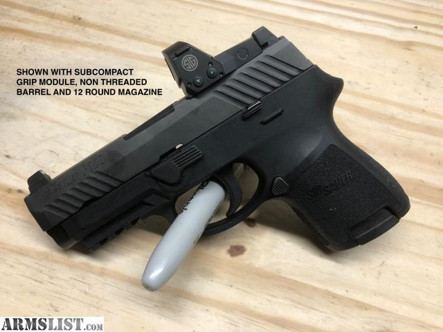 ARMSLIST - For Sale/Trade: Sig P320RX Compact threaded