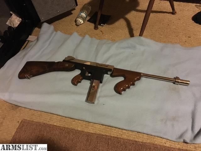 ARMSLIST - For Sale/Trade: Chrome Tommy Gun
