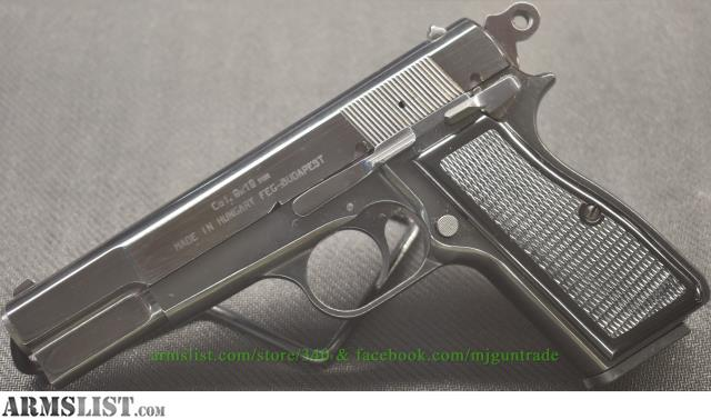ARMSLIST - For Sale: FEG Mod  PJK-9HP in 9mm Made in Hungary
