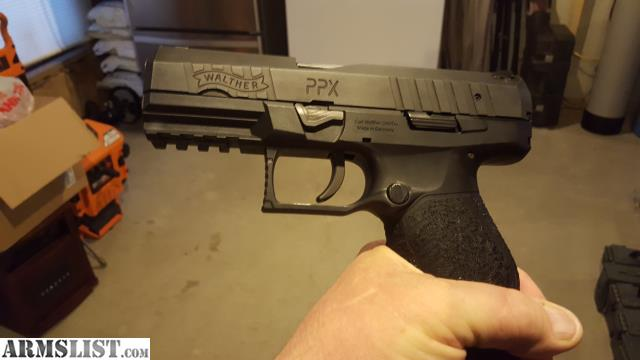 ARMSLIST - For Sale: WALTHER PPX 40 CAL