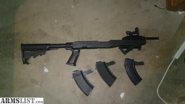 ARMSLIST - For Sale: Tapco Sks Stock with add ons