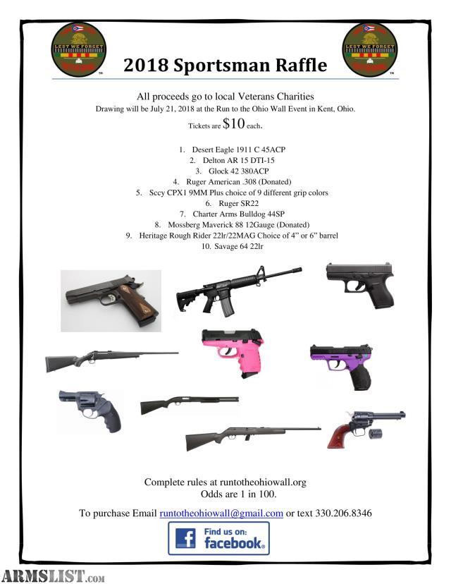 ARMSLIST - For Sale: Gun Raffle