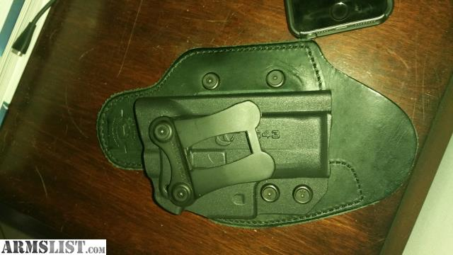 Armslist For Sale G43 Infidel Ultra Max Holster Iwb