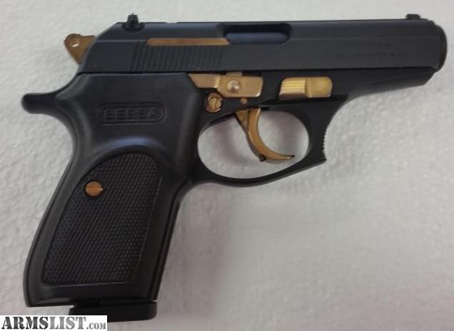 Armslist For Sale Bersa Thunder 380 In Matte Black Gold 380 Acp