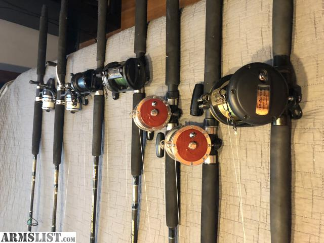 Armslist for sale deep sea rods and reel for trade for Deep sea fishing rods and reels for sale
