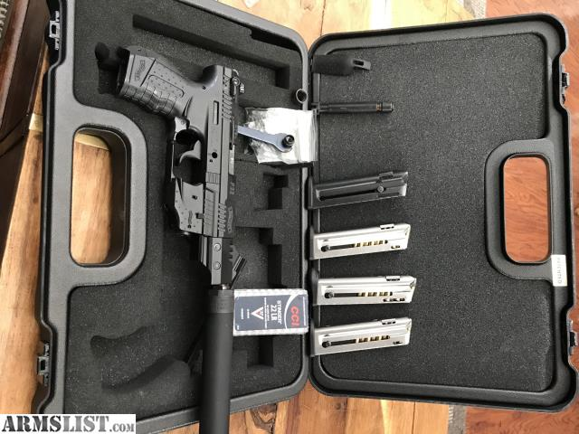 armslist for sale p22 package suppressor ready tons of extras. Black Bedroom Furniture Sets. Home Design Ideas