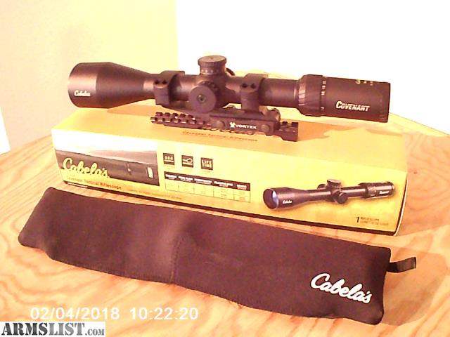 Armslist for sale cabela 39 s covenant tactical ffp 6 for Cabela s kalispell