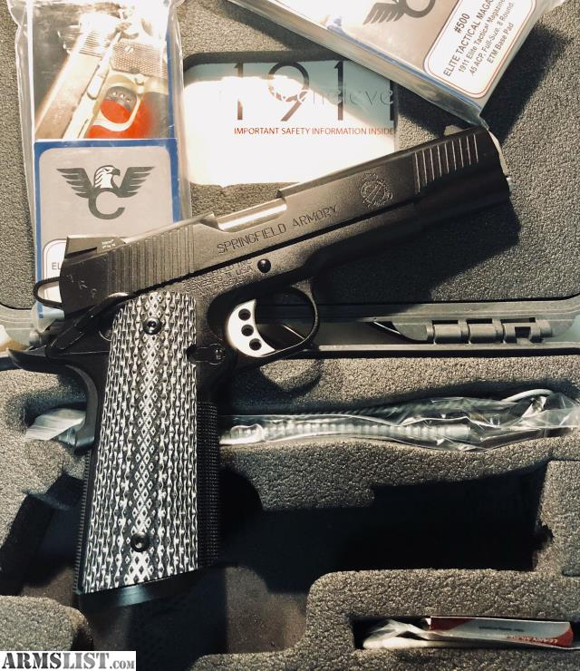 ARMSLIST - For Sale: Springfield Armory 1911 TRP, Nib, Not