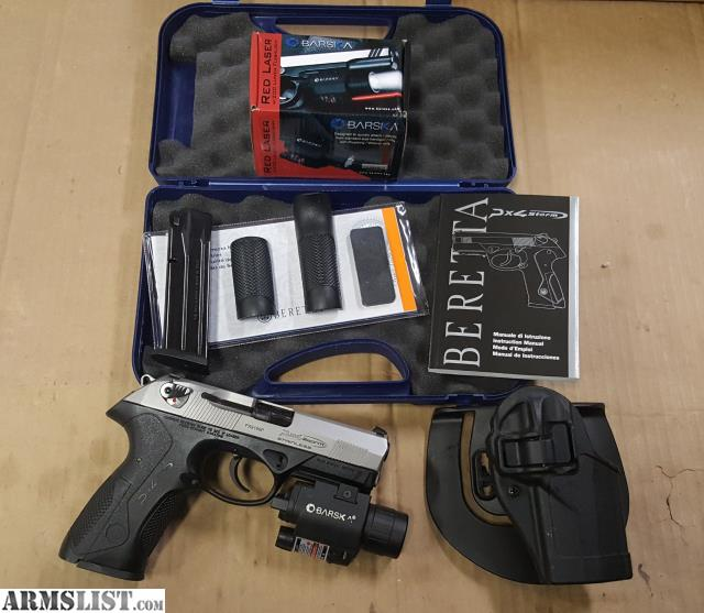 ARMSLIST - For Sale: Beretta PX4 Storm 9mm, holster, light/laser