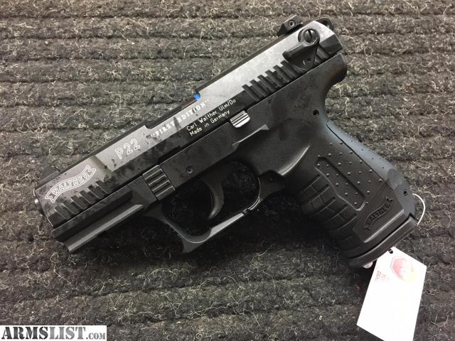 ARMSLIST - For Sale: Walther P22 First Edition, Never Fired