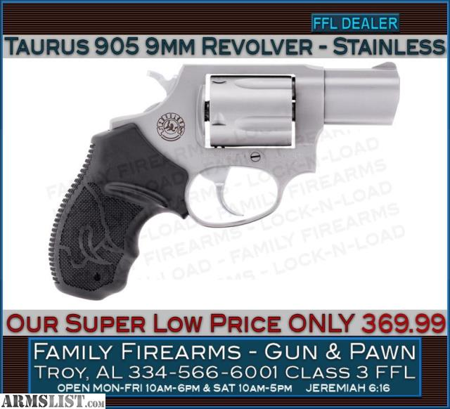 ARMSLIST - For Sale: Taurus M905 9mm Revolver at a Super Low Price