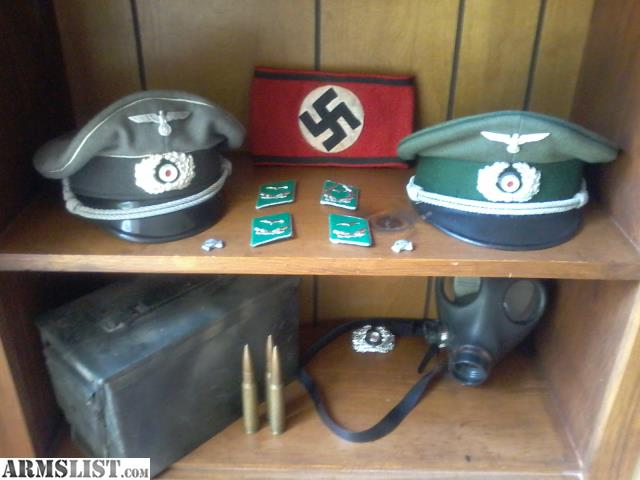 ARMSLIST - For Sale/Trade: WWI, WWII German and U S  Militaria