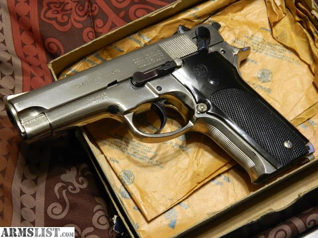 smith and wesson model 59 serial number location