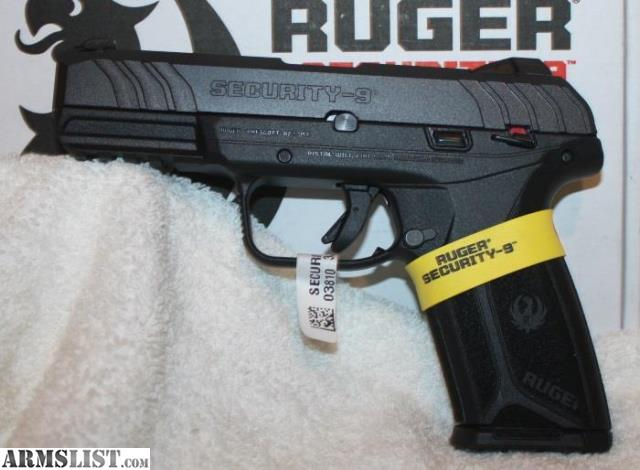 ARMSLIST - For Sale: New Ruger Security 9 3810 9MM Semi Auto