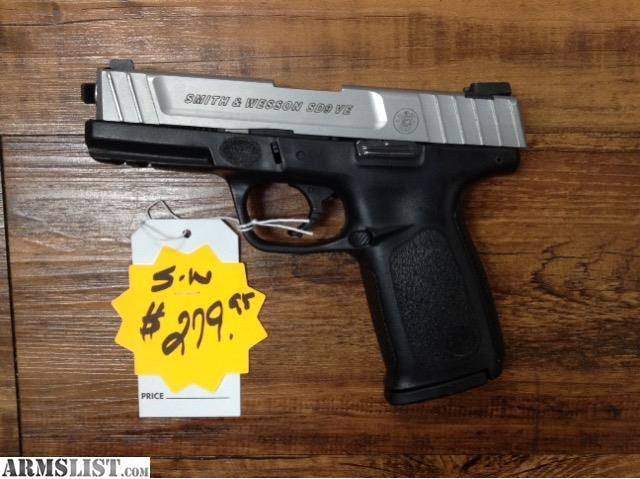 Dallas Gun Trader >> ARMSLIST - For Sale: Smith and Wesson sd9ve 9mm Pistol