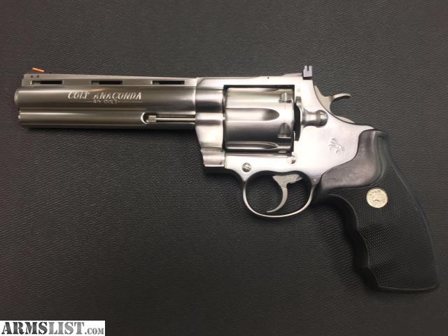 ARMSLIST - For Sale: Colt Anaconda  45 Colt 6