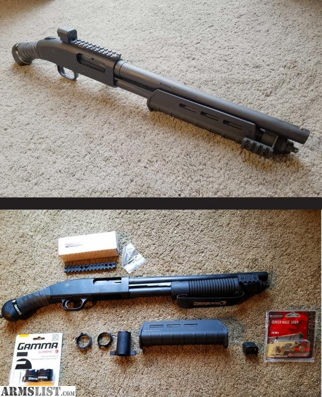 Center Mass Laser Shotgun: Custom Mossberg Shockwave