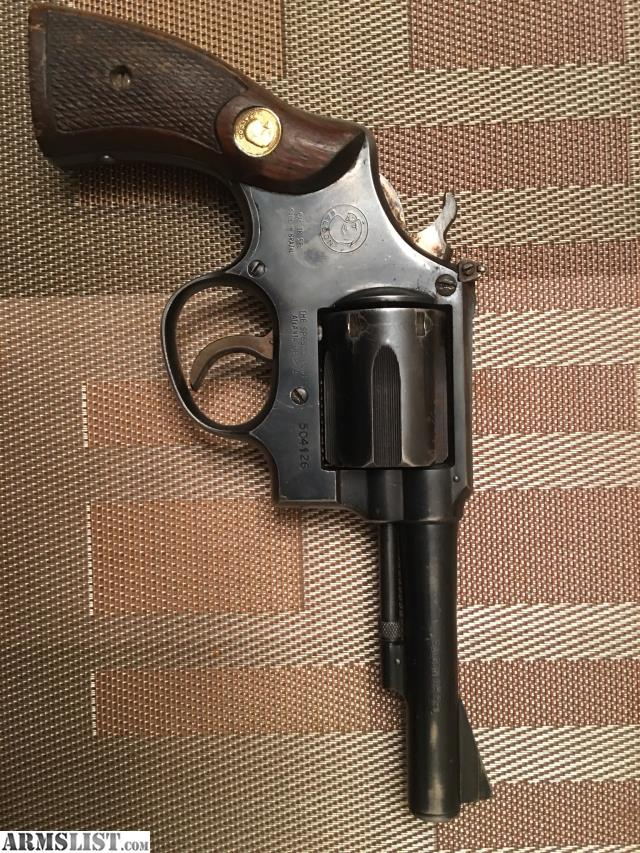 ARMSLIST - For Sale: TAURUS Falcon 38 Special Six Shot Revolver