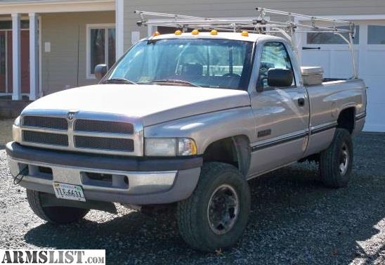 armslist for sale 1996 dodge 2500 cummins 12 valve 4x4 6500. Black Bedroom Furniture Sets. Home Design Ideas