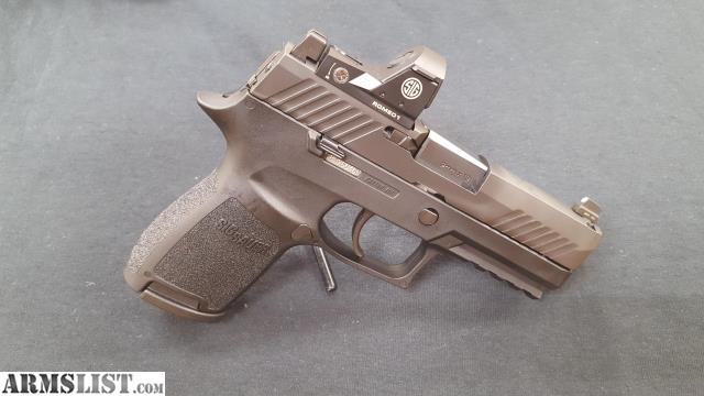 Buy Sell Trade Websites >> ARMSLIST - For Sale: Sig Sauer P320 Compact w/Romeo 1 RDS