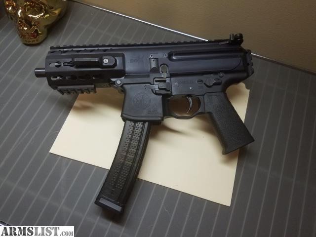 ARMSLIST - For Trade: Sig Sauer MPX-K Pistol