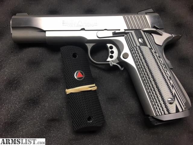 Armslist For Sale Custom Colt Delta Elite 10mm