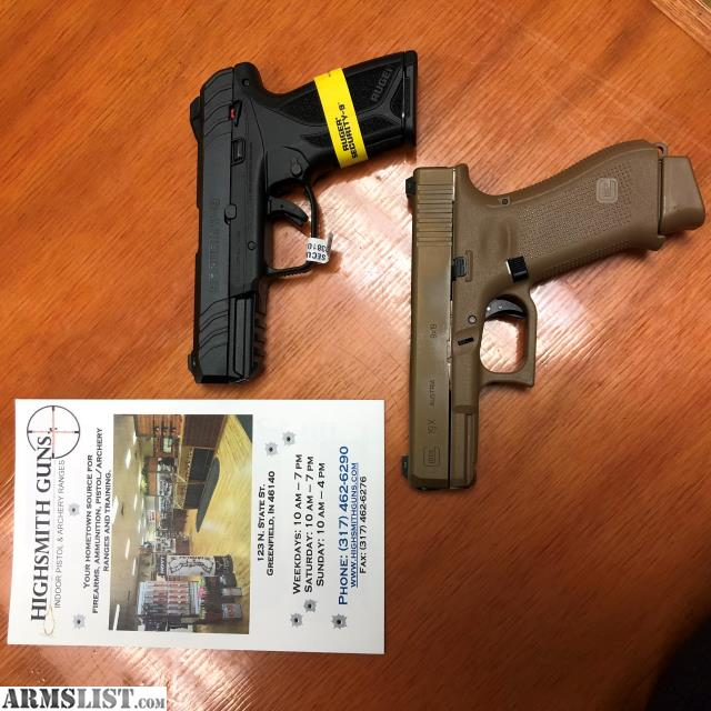 ARMSLIST - For Sale: GLOCK 19x and RUGER SECURITY 9