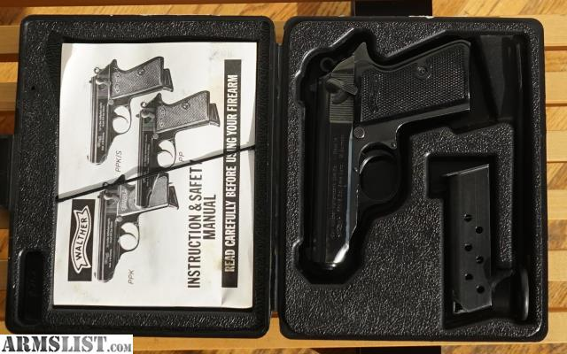 armslist for sale 1975 w german made walther ppk s 380