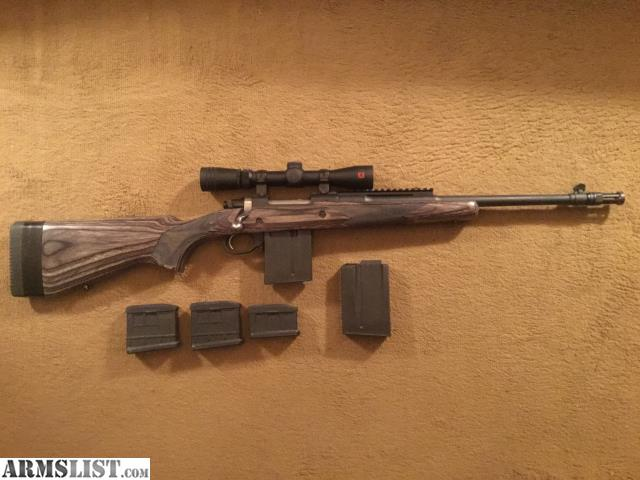 ARMSLIST - For Sale:  308 Ruger Gunsite Scout rifle