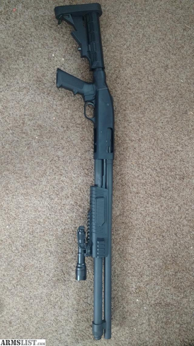 Armslist For Sale Trade Mossberg 590 Flex Tactical W Light