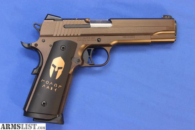 ARMSLIST - For Sale: SIG SAUER SPARTAN FULL SIZE 1911
