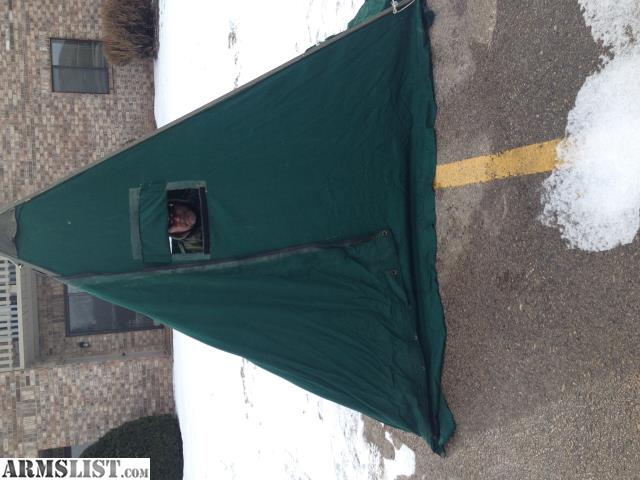 Armslist for sale ice fishing shelter or hunting blind for Ice fishing shelters for sale