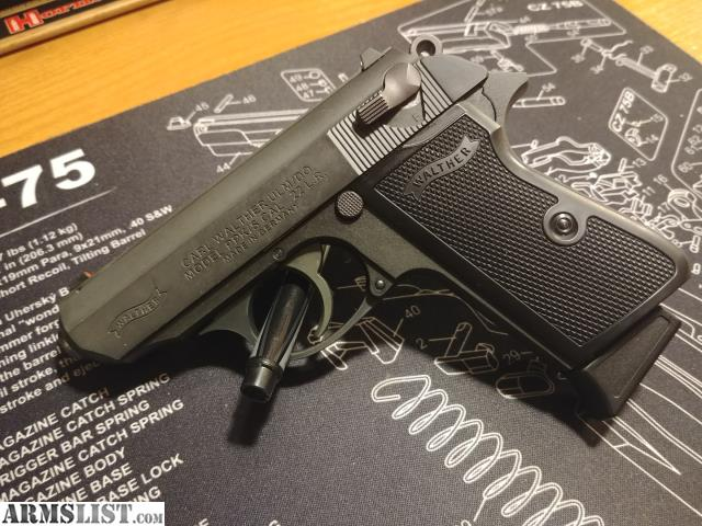 ARMSLIST - For Sale: Walther PPK/S 22lr