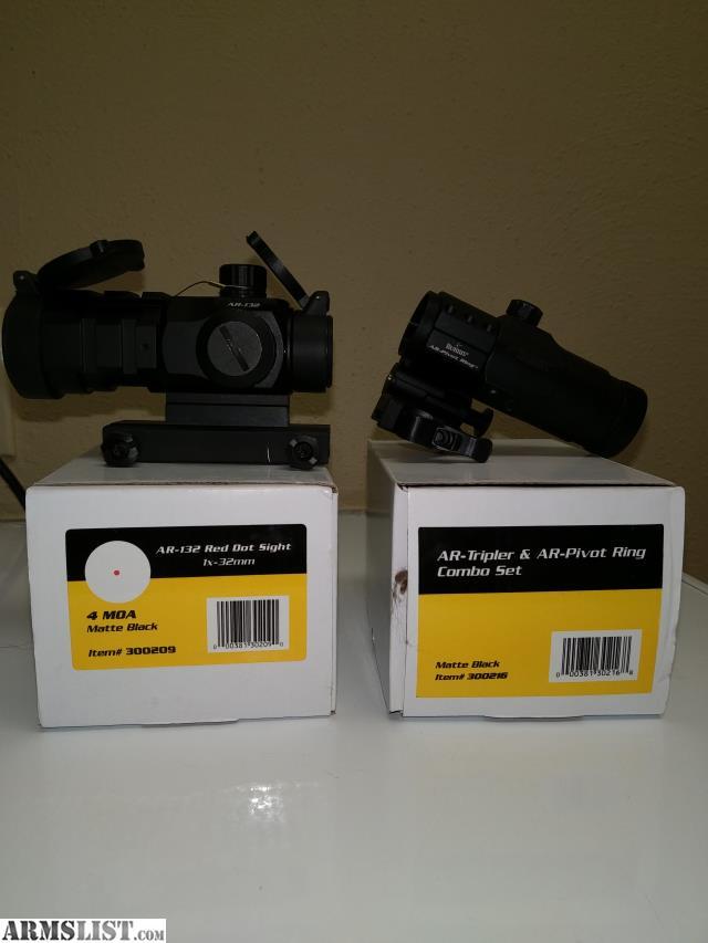 Armslist For Sale Burris Ar 132 And 3x Magnifier
