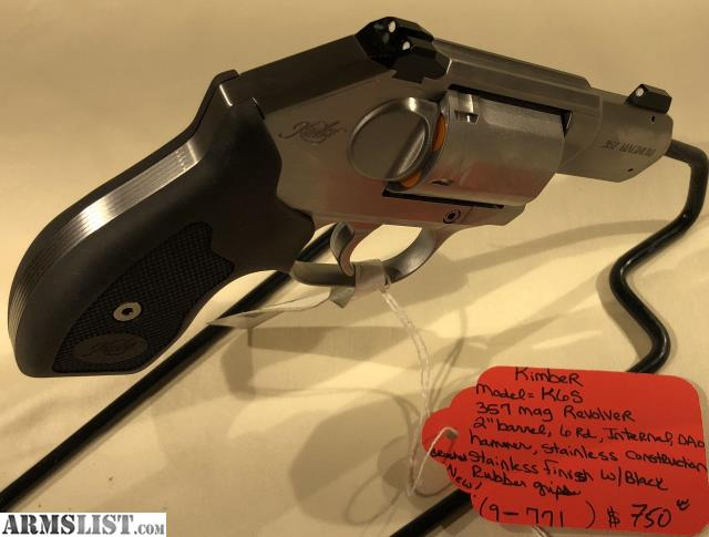 ARMSLIST - For Sale: Kimber K6S Revolver
