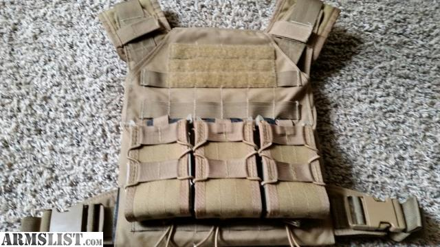 ARMSLIST - For Sale: GGG Plate Carrier, AR500 Plates & HSGI Taco Pouches