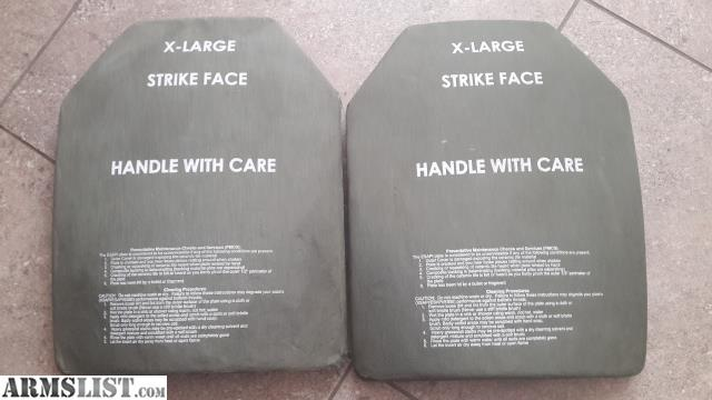 ARMSLIST - For Sale: SAPI ESAPI Bulletproof Ceramic Body
