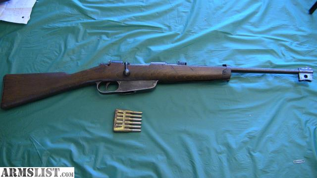ARMSLIST - For Sale: Italian Carcano Mod 1938 Cavalry Carbine