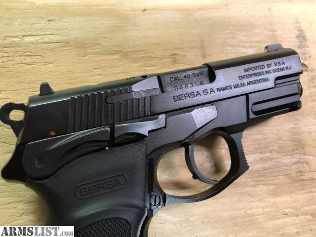 ARMSLIST - For Sale: Bersa Thunder  40 Ultra Compact Pro