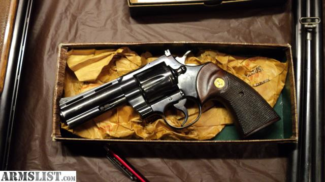 ARMSLIST - For Sale: 1964 COLT PYTHON AWESOME CONDITION