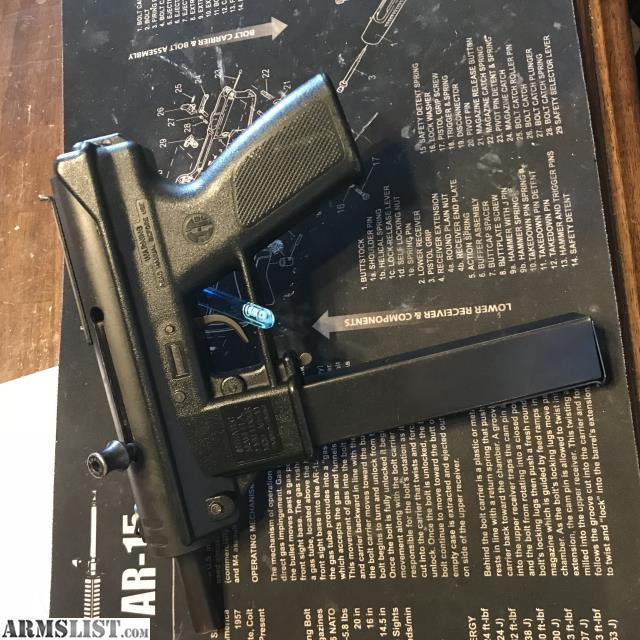 ARMSLIST - For Sale: Intratec 9mm AB-10 (aka Tec nine) rare!