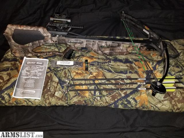 barnett crossbow quad 400 manual